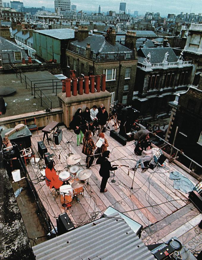 the beatles rooftop concert 1969