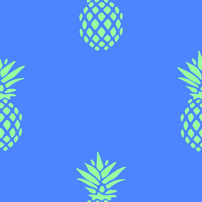 pineapples_blue
